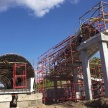 Строители Большого Казанского кольца установили опоры пешеходного перехода