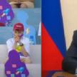 """""""Ты не стесняйся этих слез"""": Путин успокоил заплакавшего от волнения мальчика"""
