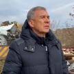 Рөстәм Миңнеханов Минзәләдә булган фаҗигада һәлак булучыларның туганнары кайгысын уртаклашты
